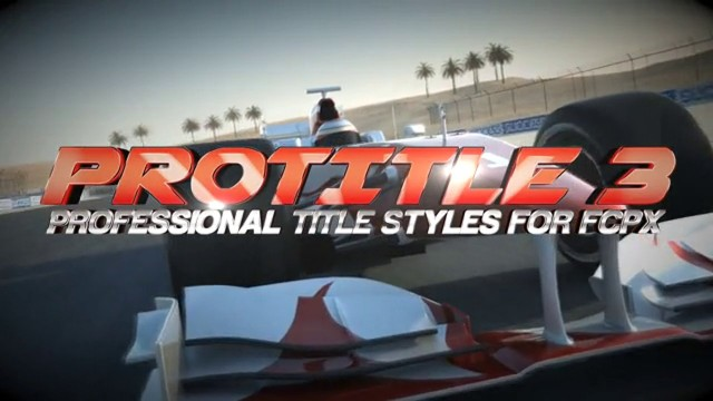 PIXEL FILM STUDIOS – PROTITLE™ VOLUME 3 PROFESSIONAL TITLE STYLES FOR FCPX