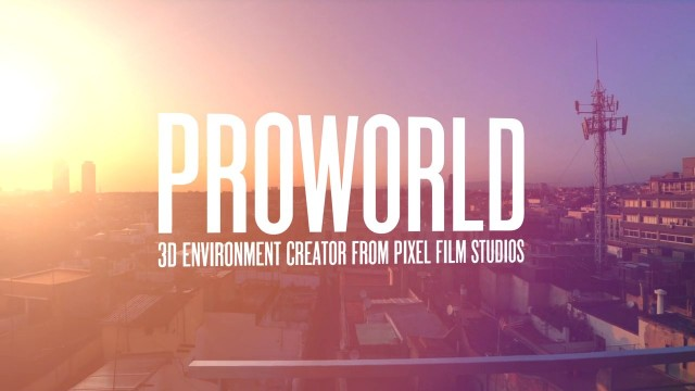 PROWORLD™ – 3D ENVIRONMENT CREATOR FOR FCPX – PIXEL FILM STUDIOS