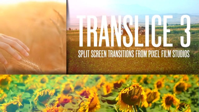 Pixel Film Studios™ – TRANSLICE™ VOLUME THREE SPLIT SCREEN TRANSITIONS FOR FCPX