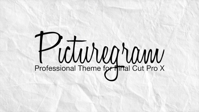 PICTUREGRAM – PROFESSIONAL THEME FOR FINAL CUT PRO X – PIXEL FILM STUDIOS