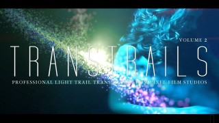 TRANSTRAILS™ – VOL. 2 PROFESSIONAL PARTICLE TRAIL TRANSITIONS FROM PIXEL FILM STUDIOS