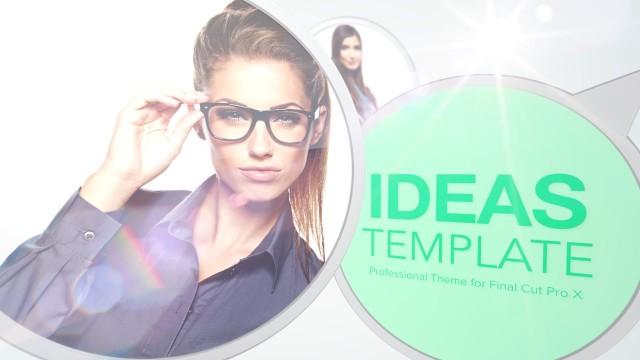 IDEAS – PROFESSIONAL THEME FOR FINAL CUT PRO X – PIXEL FILM STUDIOS