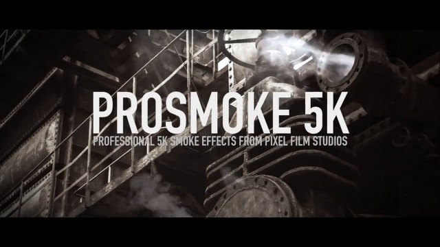 Pixel Film Studios – PROSMOKE™ 5K PROFESSIONAL 5K SMOKE EFFECTS FOR FCPX