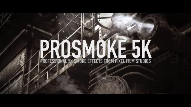 Pixel Film Studios – PROSMOKE™ 5K PROFESSIONAL 5K SMOKE EFFECTS FOR FCPX