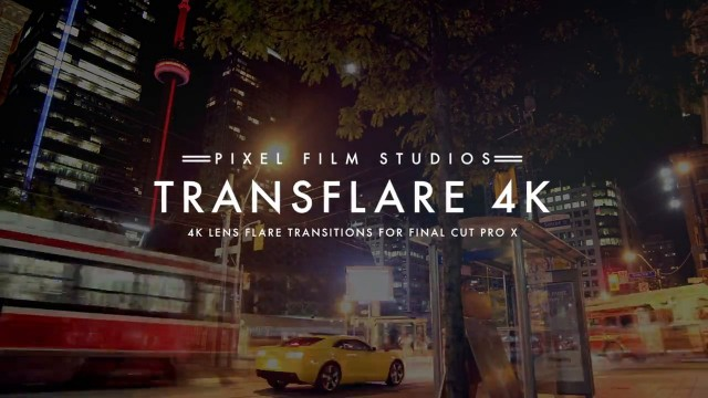 TRANSFLARE 4K™ – PROFESSIONAL 4K LENS FLARE TRANSITIONS FOR FCPX – PIXEL FILM STUDIOS