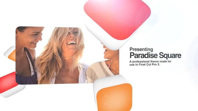 PARADISE SQUARE – PROFESSIONAL THEME FOR FINAL CUT PRO X – Pixel Film Studios