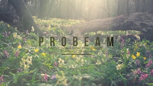 Pixel Film Studios – PROBEAM™ PROFESSIONAL LIGHT BEAM EFFECTS FOR FCPX