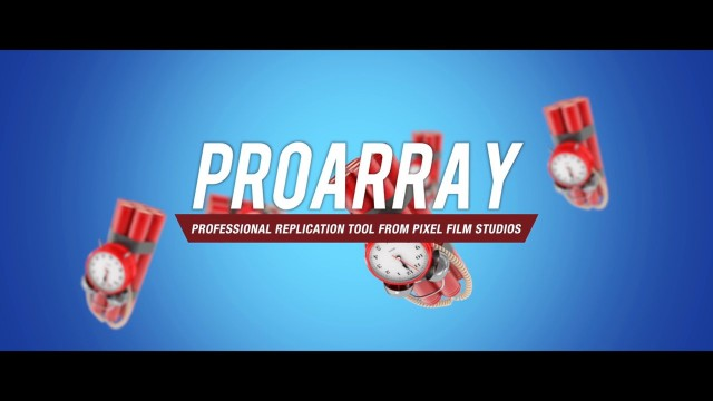 PROARRAY™ – PROFESSIONAL REPLICATION TOOL FOR FCPX FROM PIXEL FILM STUDIOS