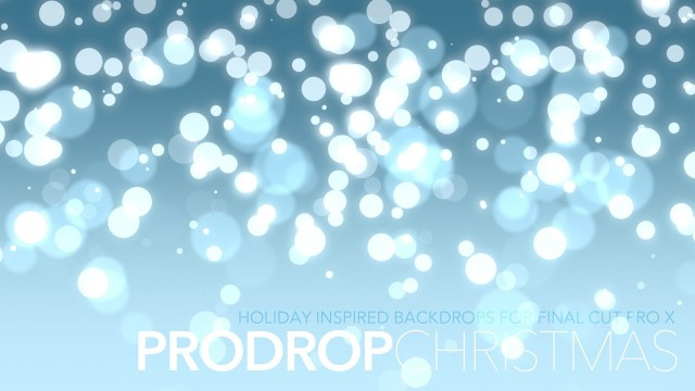 ProDrop Christmas – Holiday Inspired Backdrops for Final Cut Pro X – Pixel Film Studios