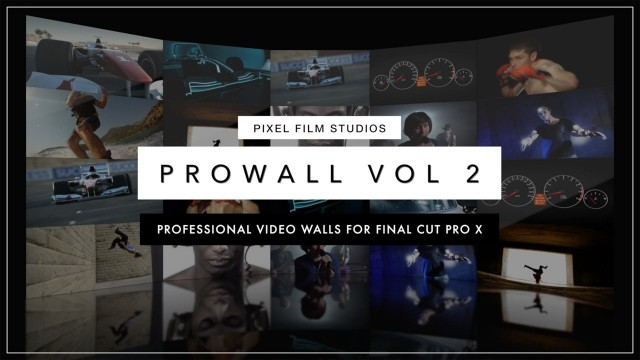 ProWall: Volume 2 – Professional Video Walls for Final Cut Pro X – Pixel Film Studios