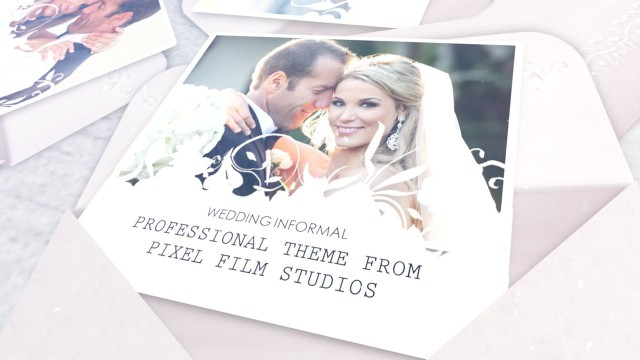 Wedding Informal – Professional Theme for Final Cut Pro X – Pixel Film Studios