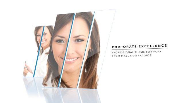Corporate Excellence – Professional Theme for FCPX – Pixel Film Studios