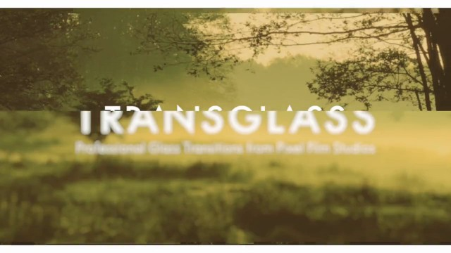 Pixel Film Studios – TransGlass – Professional Glass Transitions For FCPX