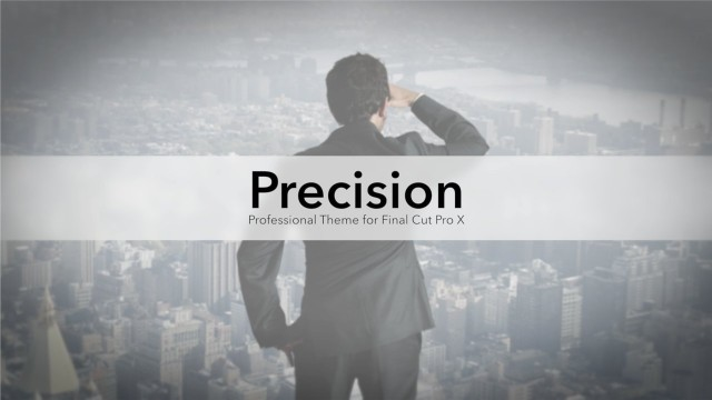 Precision – Professional Theme for FCPX – Pixel Film Studios