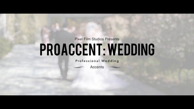 ProAccent: Wedding – Professional Wedding Accent Elements from Pixel Film Studios