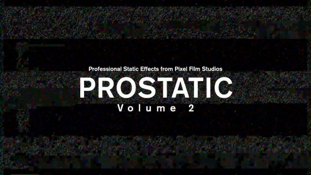 ProStatic: Volume 2 – Professional Static Effects for FCPX from Pixel Film Studios