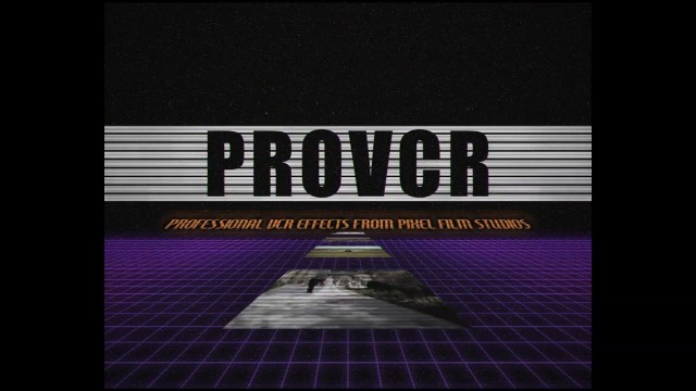 ProVCR – Professional VCR Effects in FCPX from Pixel Film Studios