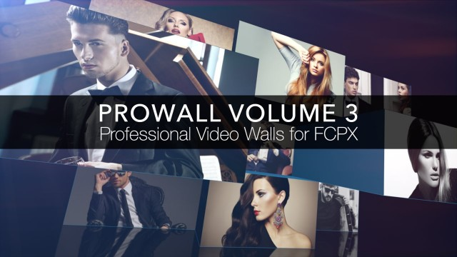 Prowall: Volume 3 – Professional Video Walls for Final Cut Pro X – Pixel Film Studios