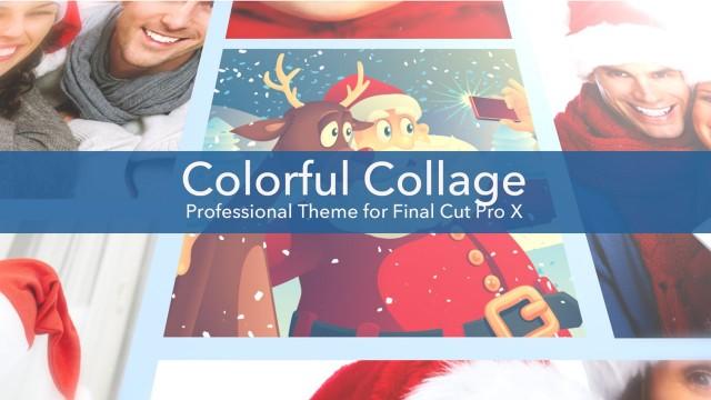 Colorful Collage – Professional Theme for Final Cut Pro X – Pixel Film Studios