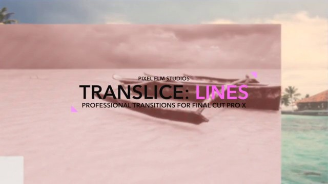 Pixel Film Studios : Translice: Lines Professional Transitions For FCPX