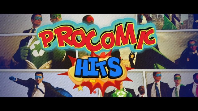 ProComic: Hits – Professional Comic Hit Titles for FCPX from Pixel Film Studios