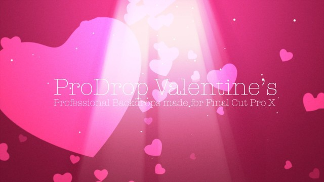ProDrop Valentine's – Professional Backdrops for Final Cut Pro X – Pixel Film Studios
