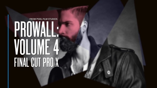 ProWall Volume 4 – Professional Video Walls for Final Cut Pro X – Pixel Film Studios