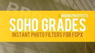 SoHo Grades™ for Final Cut Pro X from Brooklyn Effects™