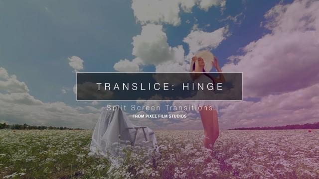 TranSlice: Hinge – Split Screen Transition – Pixel Film Studios