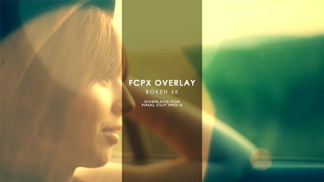 FCPX Overlay: Bokeh 6K