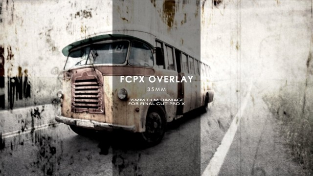 FCPX Overlay: 35mm – Film Damage Overlays for Final Cut Pro X