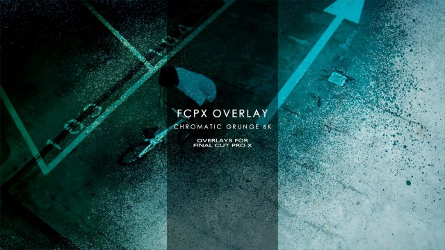 FCPX Overlay Chromatic Grunge 6K – Grunge Overlays for Final Cut Pro X