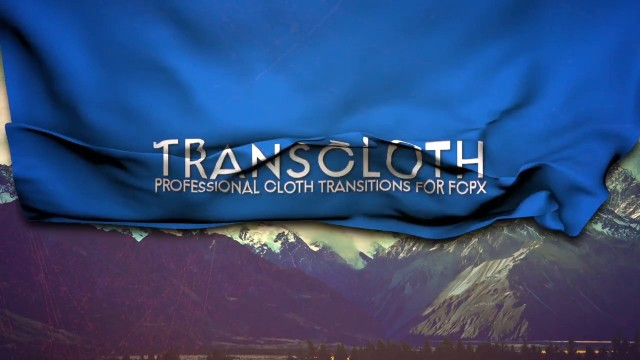 Pixel Film Studios – TransCloth Professional Cloth Transitions For FCPX