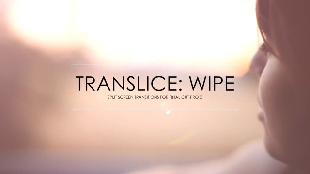 TranSlice: Wipe – Split Screen Transition – Pixel Film Studios