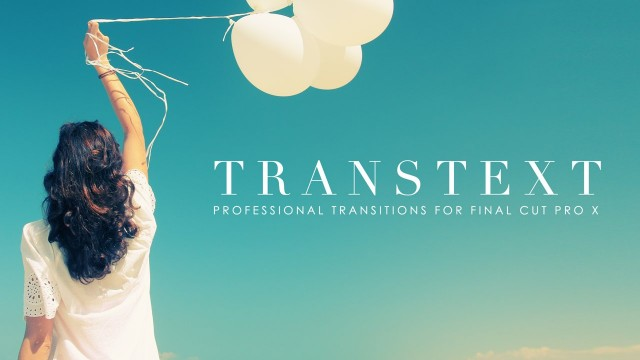 TransText – Text Transitions for Final Cut Pro X – Pixel Film Studios
