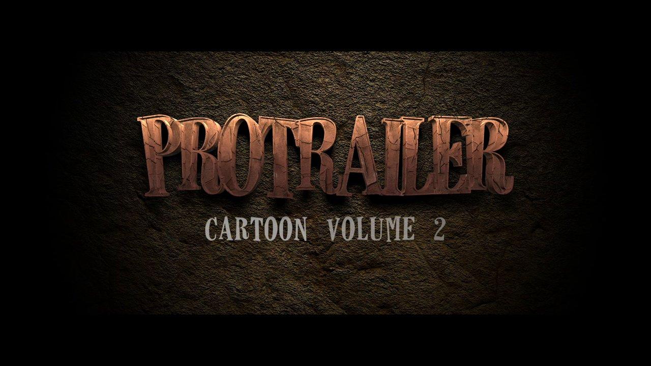 Pixel Film Studios – ProTrailer: Cartoon Volume 2 Professional Trailers for Final Cut Pro X