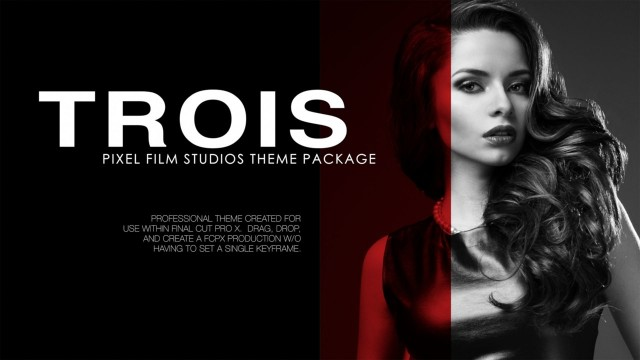 Fashion Trois – Fashion Theme Package for Final Cut Pro X – Pixel Film Studios