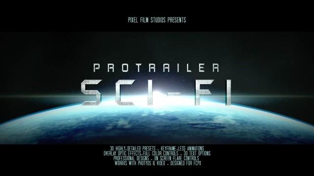 ProTrailer Sci Fi – Professional Trailer Titles For FCPX